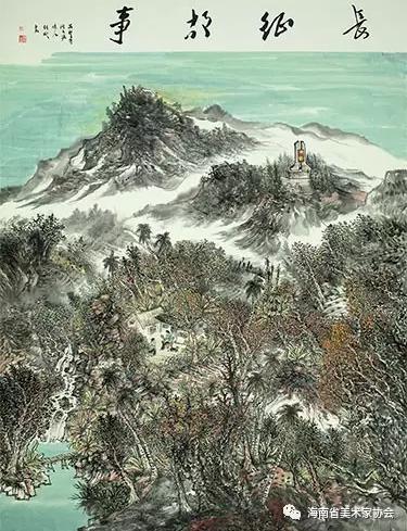 杨彬《长征故事》中国画-银奖