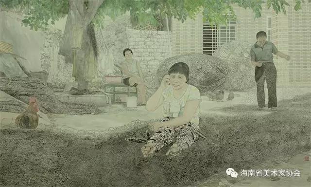 徐茜_《玉包岗的九月》_中国画-银奖