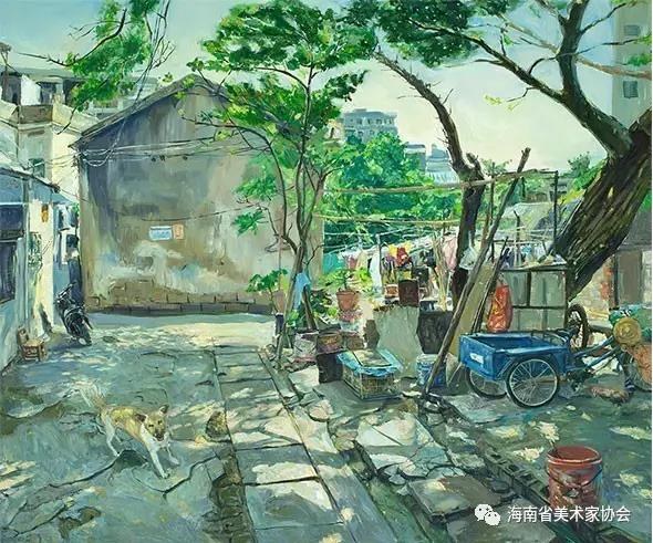 尹林华《归》油画-116x136cm-铜奖