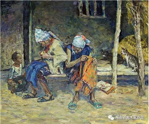 曾德峰《留守》油画-金奖