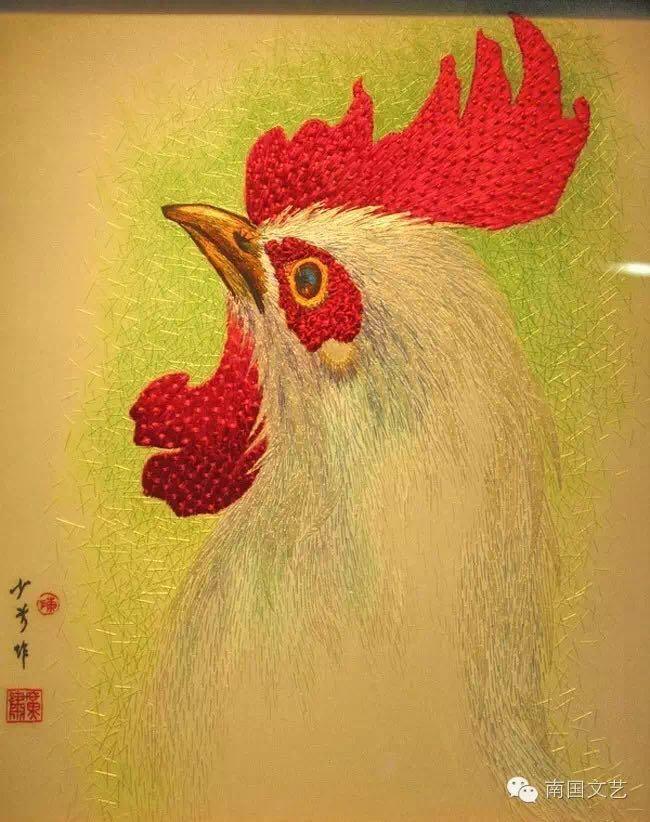 广绣大师陈少芳│第一批广州市民间艺术大师风采展示 (一)
