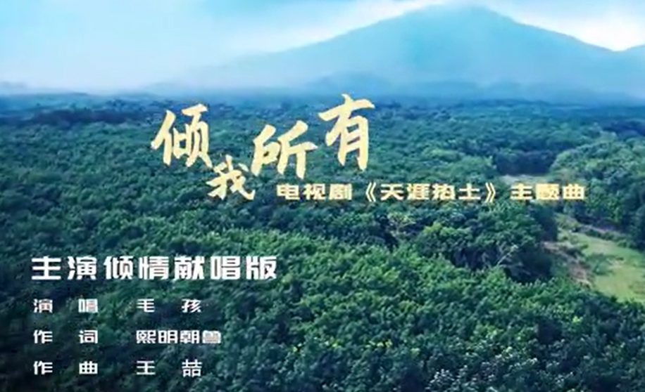 电视剧《天涯热土》主题曲《倾我所有》演员倾情献唱版