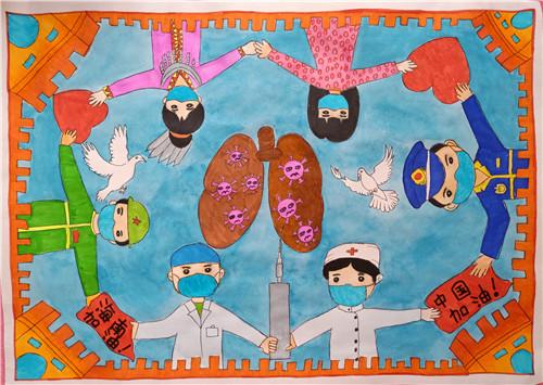 2020年ManBetX网页教育系统公益美术作品大赛初选入围作品线上展示(第十一期)小学组